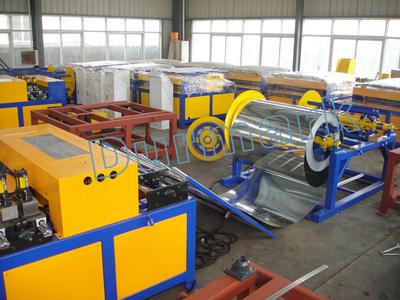 خط إنتاج مجاري الهواء لتصنيع مجاري التهوية