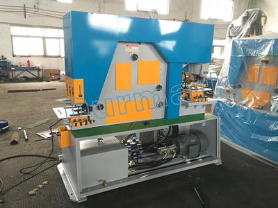 DIW-65T آلة القص والتثقيب الهيدروليكية
